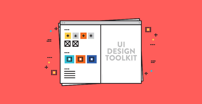 Banner image that represents UI toolkits