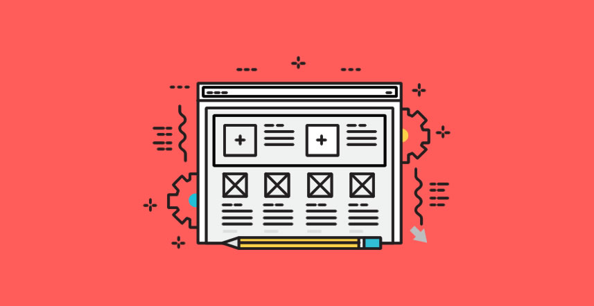 Banner image that represents wireframing